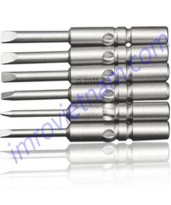 4mm drive slotted