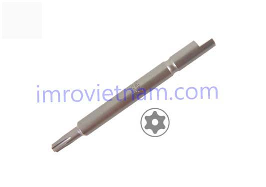 Halfmoon 4mm drive torx security tamper proof - 1